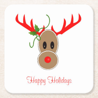 Gingerbread Reindeer Coasters