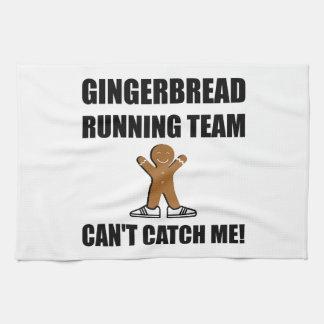 Gingerbread Running Team Towel