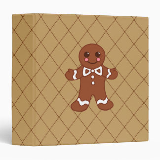 Gingerbread Scrapbook Binder
