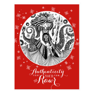 Gingerbread Sea Witch | Red Postcard Authenticity