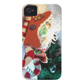 Gingerbread Sleigh I Case-Mate iPhone 4 Case