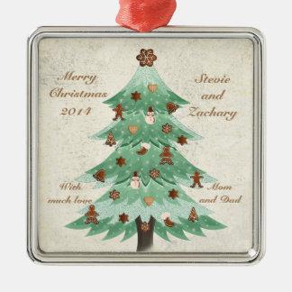 Gingerbread Tree - Christmas Ornament
