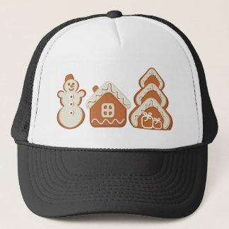 gingerbread trucker hat