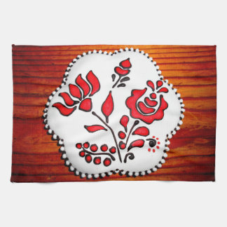 Gingerbread With Hungarian Motifs Kitchen Towels
