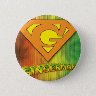 Gingermon 2 Inch Round Button