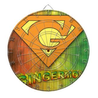 Gingermon Dartboard