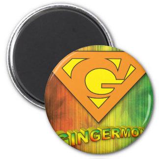 Gingermon Magnet