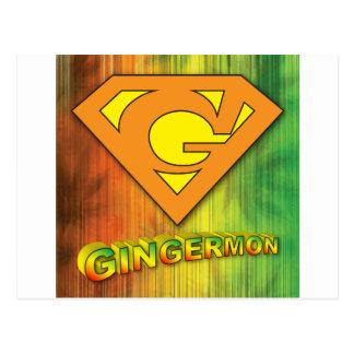 Gingermon Postcard