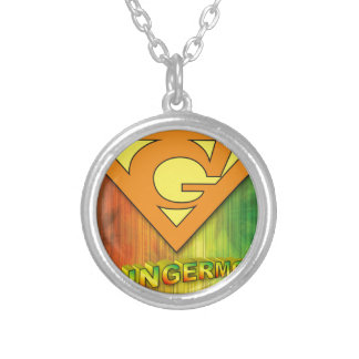 Gingermon Silver Plated Necklace