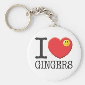 Gingers Keychain