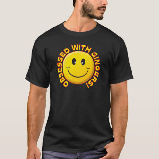 Gingers Obsessed Smile T-Shirt