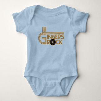 Gingers Rock Baby Bodysuit