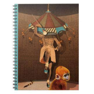 """Ginger's sadness "" Spiral Notebook"