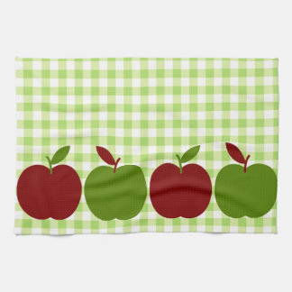 Gingham and Apples Kitchen Towel