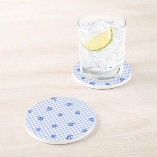Gingham and Roses 2 Coaster