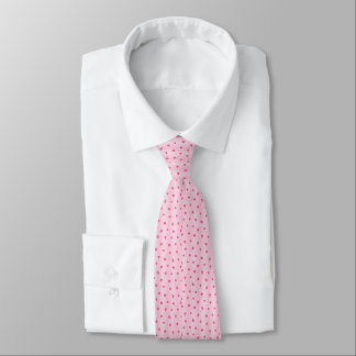 Gingham and Roses Tie