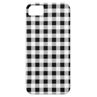 Gingham Black and White Case For The iPhone 5