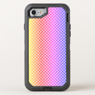 Gingham Check Checkered Bright Colorful OtterBox Defender iPhone 8/7 Case