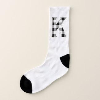 Gingham Check K Socks