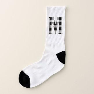 Gingham Check M Socks