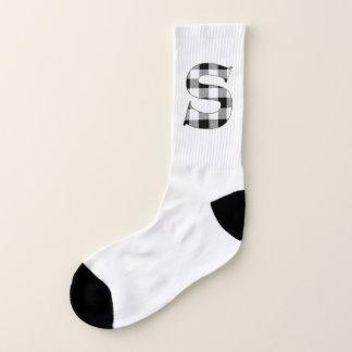 Gingham Check S Socks
