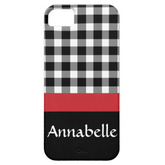 Gingham Gal iPhone 5 Covers