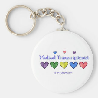 Gingham Hearts MT Keychain