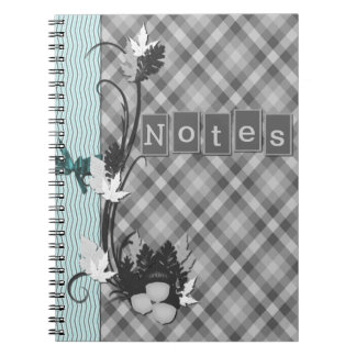Gingham Notebooks