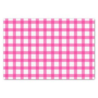 Gingham Pattern Tissue Paper