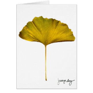 """Gingko"" by J. Maya Luz Card"