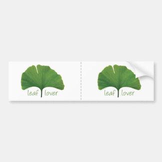 Gingko Leaf Bumper Stickers