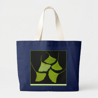 gingko leaves tote