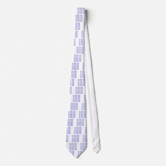 Gingkos blue elements tie