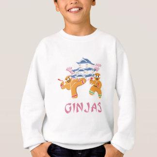 Ginjas Ninjas Christmas Ninja Gingerbread Sweatshirt
