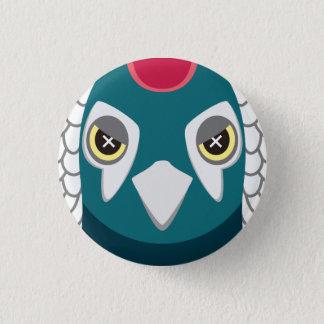 ginkei - Lady Amherst's Pheasant 1 Inch Round Button