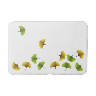 Ginko leaf bath mat