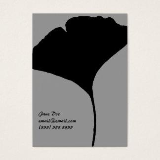 Ginko Leaf Calling Card