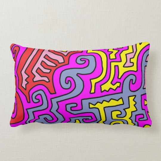 """Ginnis"" Lumbar Pillow 13"" x 21"""