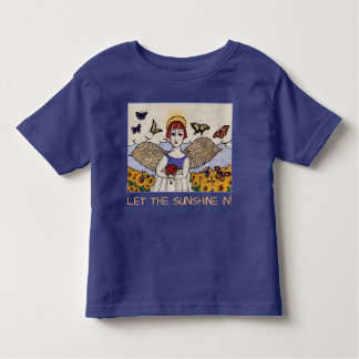 GINNY PEARL FOR KIDS , Sunshine Angel Toddler T-shirt
