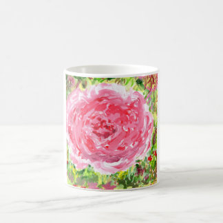 Ginormous rose mug