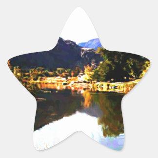 Gintys Pond Cawston BC Star Sticker