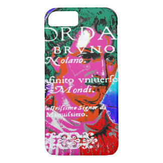 Giordano Bruno Esoteric Occult Astrology Italian iPhone 8/7 Case