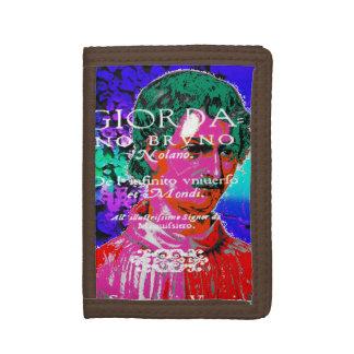 Giordano Bruno Esoteric Occult Astrology Italian Tri-fold Wallet