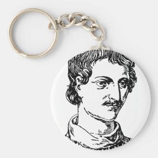 Giordano Bruno Keychain