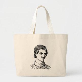 Giordano Bruno Large Tote Bag