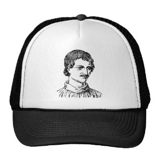 Giordano Bruno Trucker Hat
