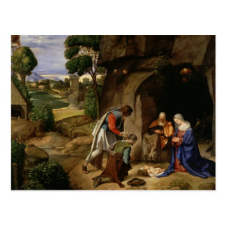 Giorgione Art Postcard