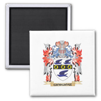Giorgione Coat of Arms - Family Crest Square Magnet