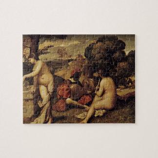 Giorgione- Pastoral Concert (Fête champêtre) Puzzle