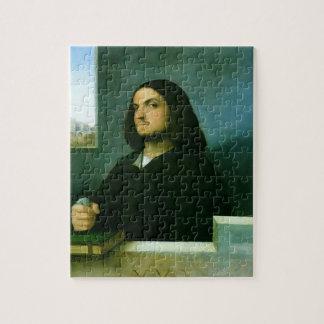Giorgione-  Portrait of a Venetian Gentleman Puzzle
